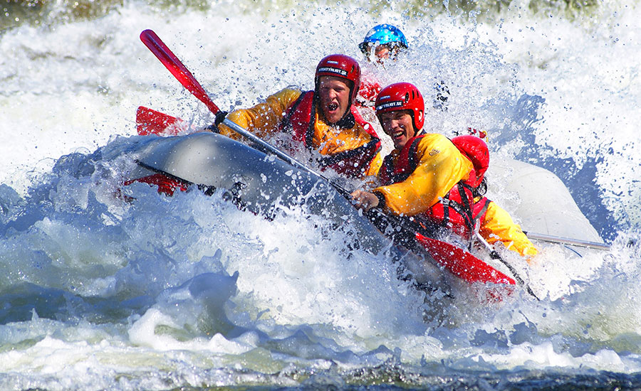 Rafting, Avancerad