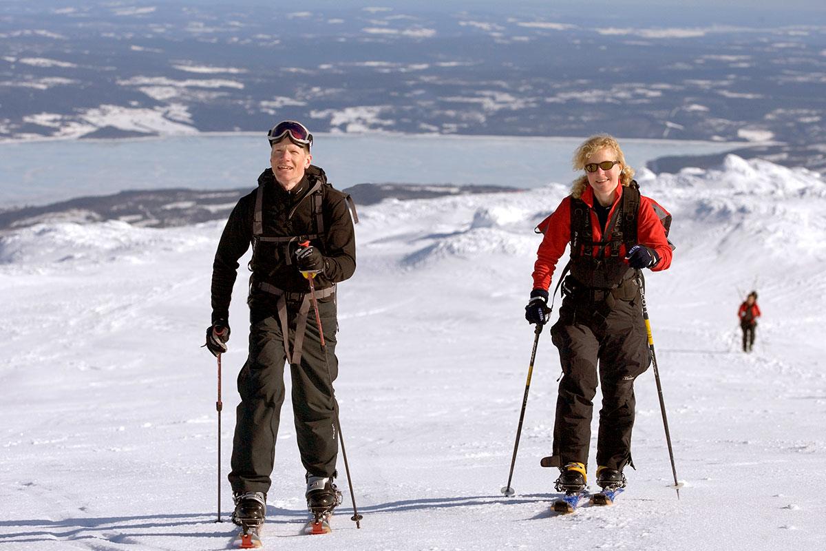 Guidad Skidåkning